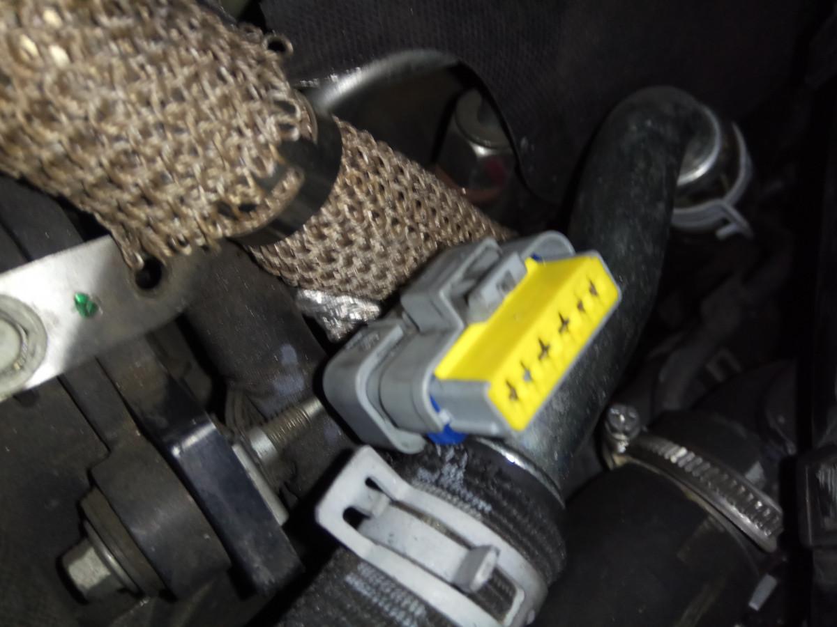 Conector EGR Delantera V6 HDi (6)